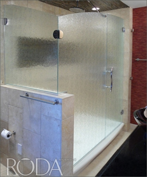 Door Panel Return Glass Shower Door