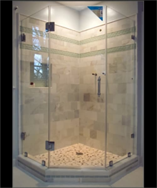 Neo Angle Glass Shower Door