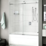 Barn Style Glass Shower Door